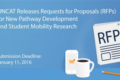 ONCAT releases RFPs for New Pathways Development & Student Mobiltiy Research