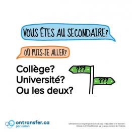 Brochure des étudiants du secondaire